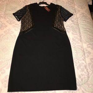 Monif C Black Bodycon Dress
